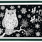 Owl Holiday Card